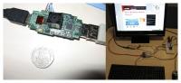 microordenador raspberry pi, ejecutando ubuntu
