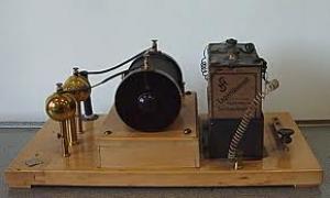Radiotelegrafía o Telegrafia sin hilos (T.S.H)