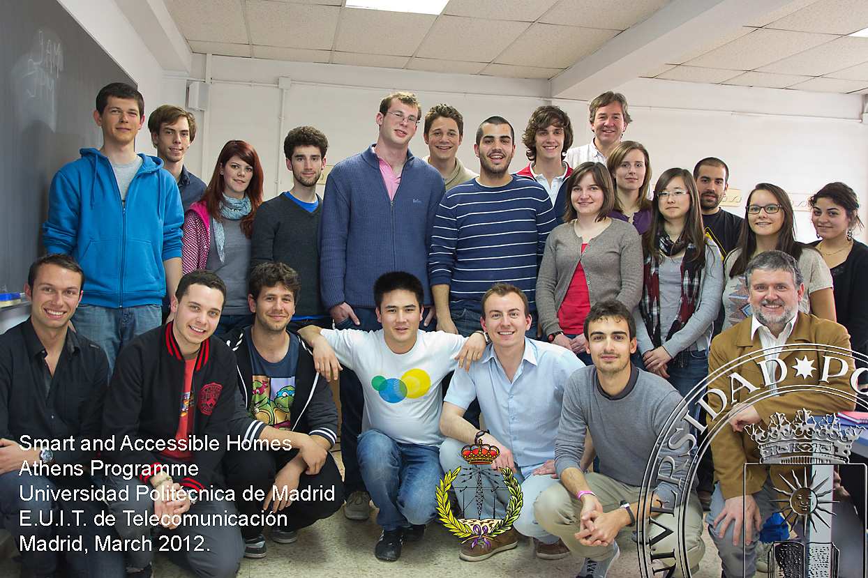 Official Picture SAH, ATHENS course 2012