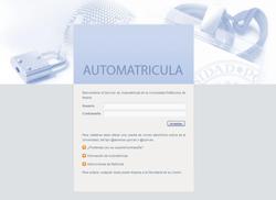 automatricula