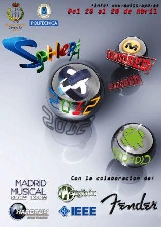 Cartel Sphera 2012