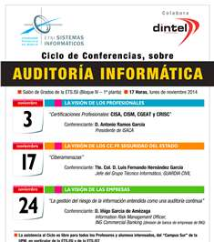 Cartel Auditoria Informática