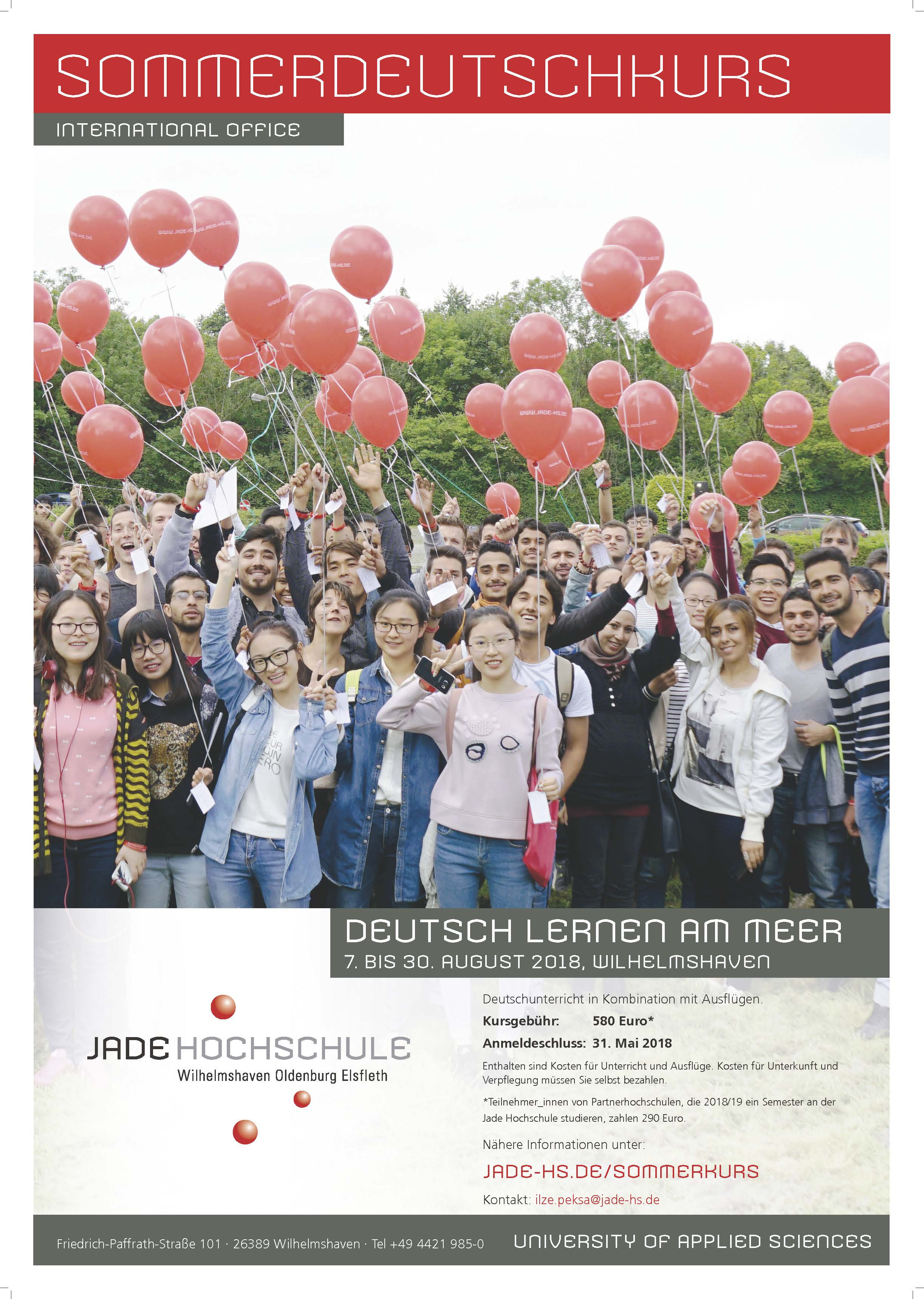 Cartel Summer German Course at Jade University
