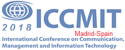 Logo ICCMIT 2018 Madrid-Spain